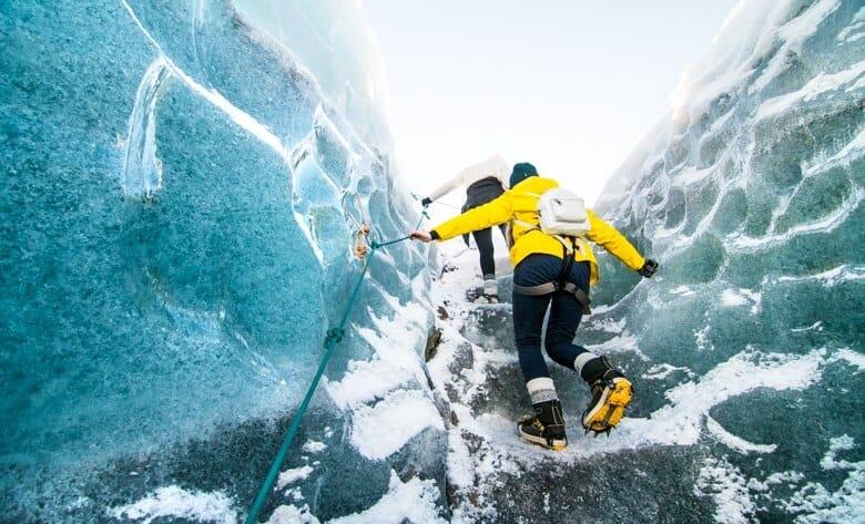 glaciärvandring
