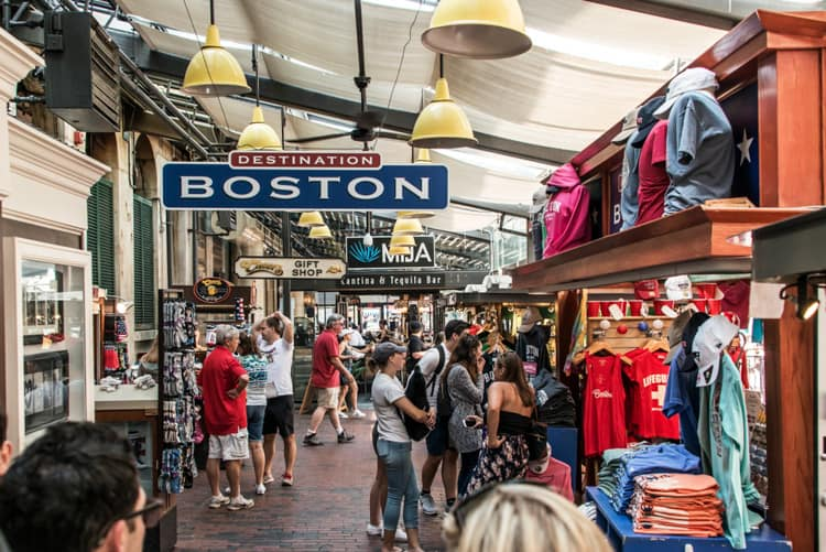 Boston souvenirs