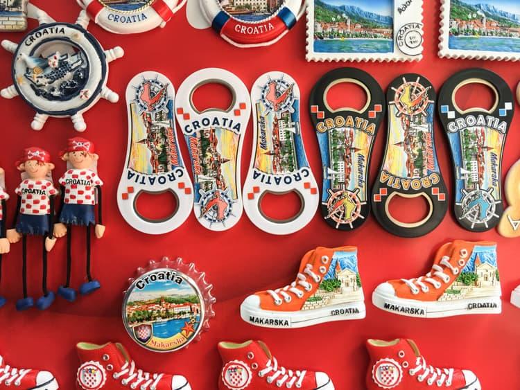 croatia souvenirs