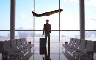 världens största flygplatser