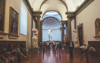 david statue Galleria dell Accademia