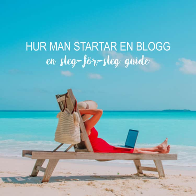 hur man startar en blogg